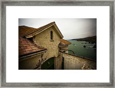 Point Bonita Lighthouse 2 Framed Print by SFPhotoStore