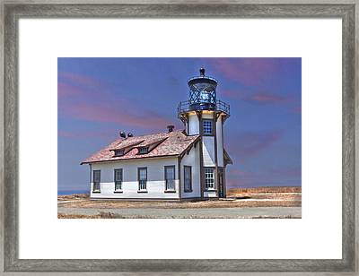 Point Cabrillo  Framed Print by Kandy Hurley