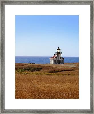 Point Cabrillo Light House Framed Print by Abram House