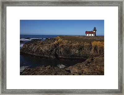 Point Cabrillo Lighthouse Framed Print