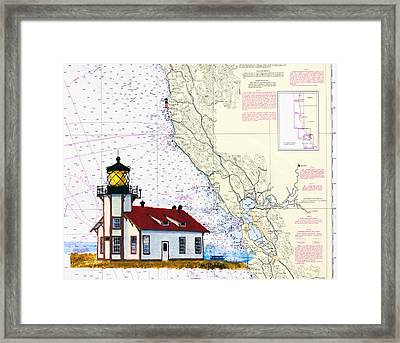 Point Cabrillo Light Station Framed Print