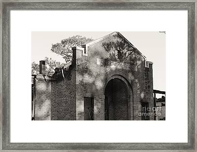 Point Clear School Framed Print by Russell Christie