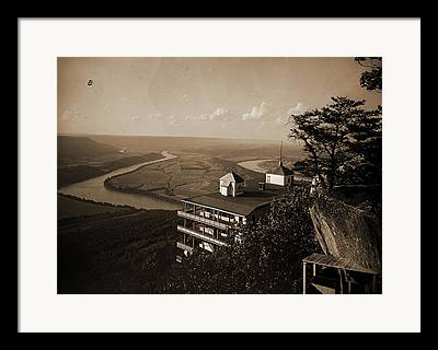 Tennessee River Drawings Framed Prints