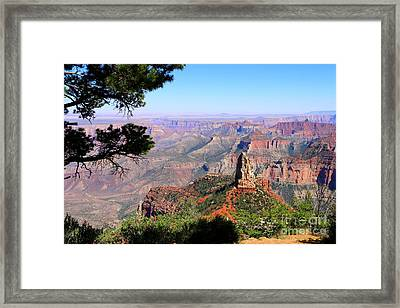 Point Imperial View Framed Print
