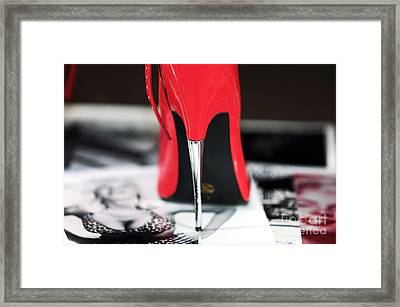Point Framed Print by John Rizzuto