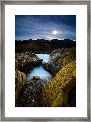 Point Lobos Big Sur Sea Arch Framed Print