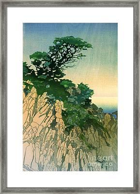Point Lobos California 1920 Framed Print