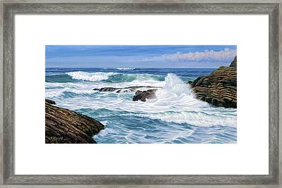 Point Lobos Framed Print by Paul Krapf
