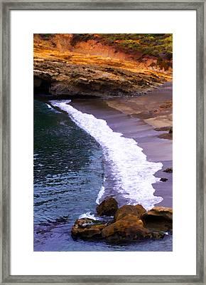 Point Lobos Framed Print by Ron Regalado
