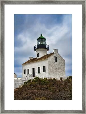 Point Loma Lighthouse Framed Print