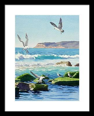Point Loma Framed Prints