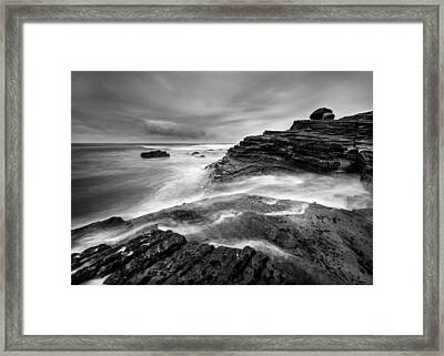 Point Loma Tide Pools Framed Print