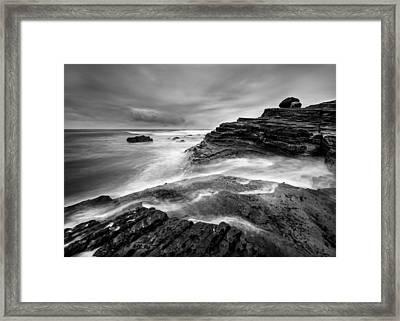 Point Loma Tide Pools Framed Print by Alexander Kunz