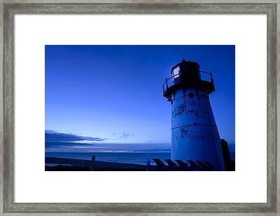 Point Montara Lighthouse Framed Print by Francesco Emanuele Carucci