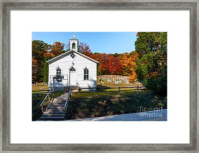 Point Mountain Community Church - Wv Framed Print