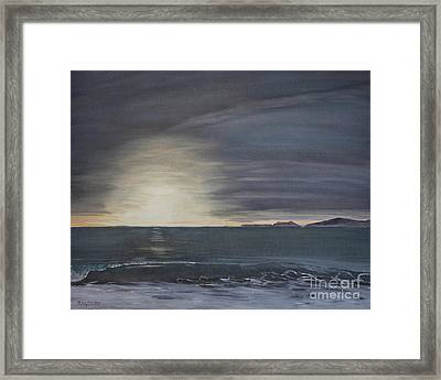 Point Mugu Sunset Framed Print