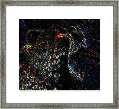Point Of Attack Framed Print by David Lee Thompson