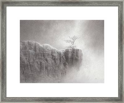 Point Of Grace Framed Print by Mark  Reep
