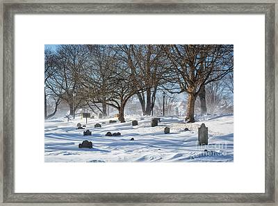 Point Of Graves Burial Grounds Framed Print