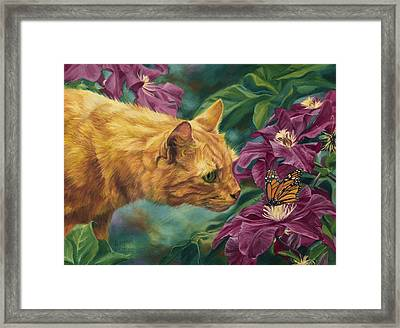 Point Of Interest Framed Print by Lucie Bilodeau