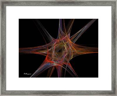 Point Of Origin Framed Print by Malcolm Regnard