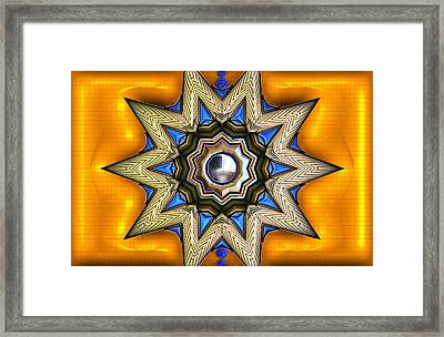 Point Of View - Gold Framed Print by Wendy J St Christopher