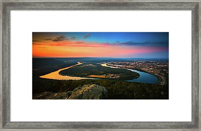 Point Park Overlook Framed Print