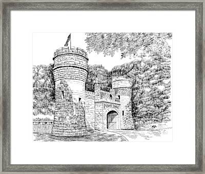 Point Park Framed Print by Robert Powell