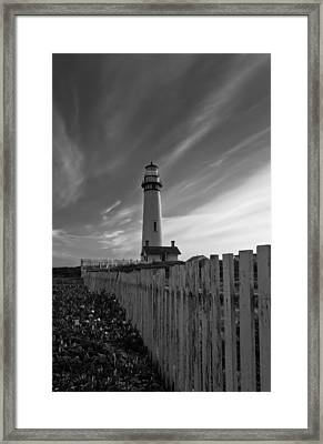 Framed Print featuring the photograph Point Pigeon Lighthouse by Jonathan Nguyen