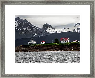 Point Retreat Framed Print by Robert Bales
