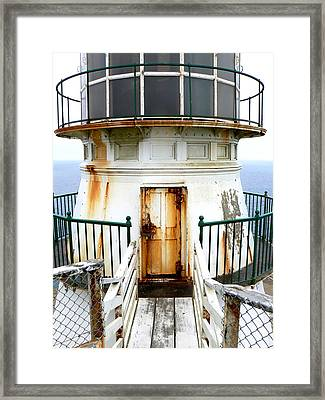 Point Reyes Historic Lighthouse Framed Print