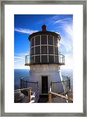 Point Reyes Lighthouse Station Framed Print