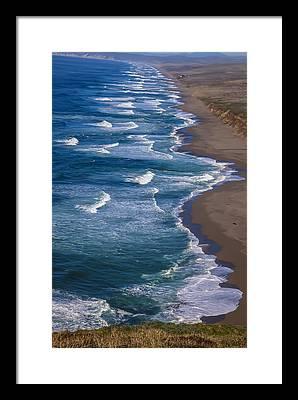 Point Reyes National Seashore Framed Prints