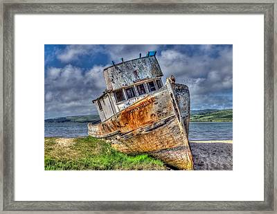Point Reyes Framed Print
