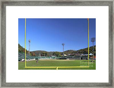 Point Stadium - Johnstown Framed Print