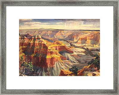 Point Sublime - Grand Canyon Az. Framed Print