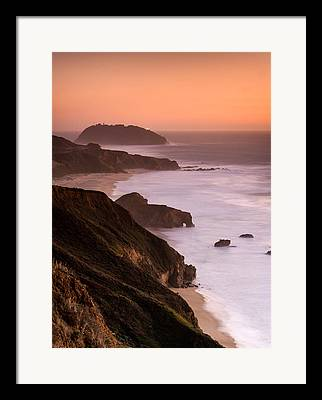 Pacific Coast Highway Lighthouses Framed Prints
