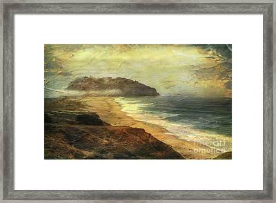 Point Sur Lighthouse Framed Print
