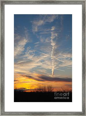 Point The Way Home Framed Print