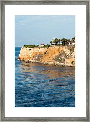 Point Vicente Lighthouse One Framed Print by Josh Whalen