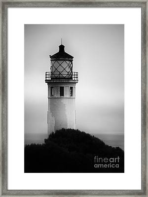 Pointe Vincente Lighthouse Framed Print