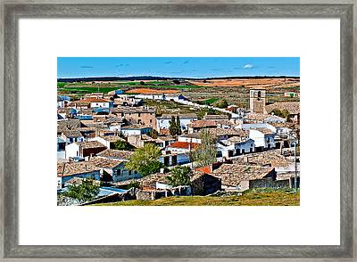 Points Of Cuenca - Castilla La Mancha - Spain Framed Print by Pastor Bello