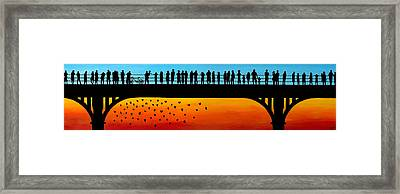 Points Of View Framed Print by Alexandra Brown