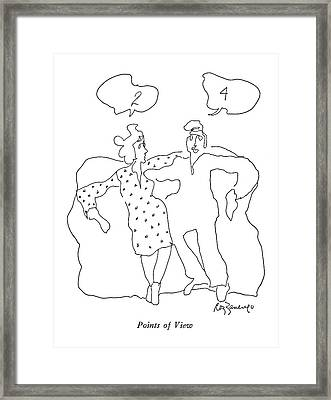 Points Of View Framed Print