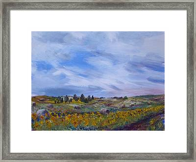 Points West Framed Print by Helen Campbell