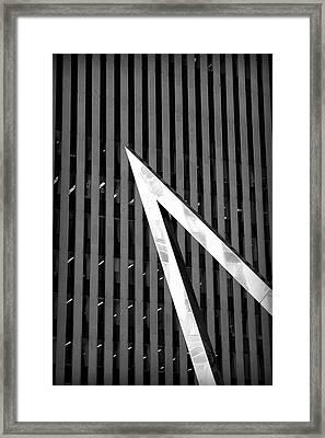 Pointy Framed Print by Valentino Visentini