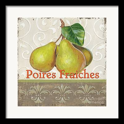 French Pears Framed Prints