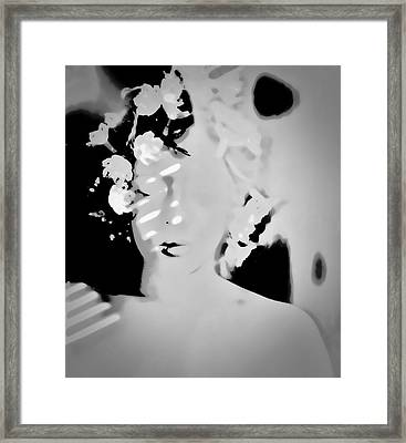 Framed Print featuring the photograph Poise by Jessica Shelton