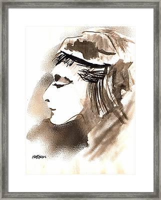 Poise Framed Print by Seth Weaver