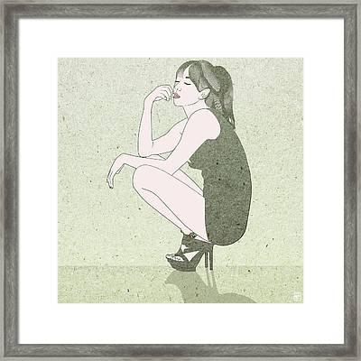 Poise Framed Print